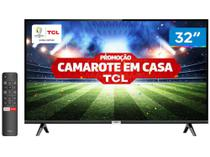 """Smart TV LED 32"""" TCL 32S6500S Android Wi-Fi - HDR Inteligência Artificial 2 HDMI USB -"""