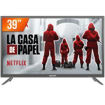 """Smart TV LED 39"""" Full HD Semp TCL L39S3900FS HDMI USB com Wifi e Conversor Digital Integrados -"""