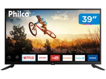 "Smart TV LED 39"" Philco PTV39E60SN Wi-Fi - Conversor Digital 2 HDMI 1 USB"