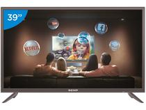"Smart TV LED 39"" Semp 1S3900FS Full HD - Wi-Fi Conversor Digital 2 HDMI USB"
