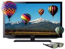 "Smart TV LED 3D 32"" Sony Bravia KDL-32HX755 - Full HD DTVi DLNA Web Browser 4 HDMI 2 USB Wi-Fi"