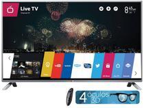 """Smart TV LED 3D 39"""" LG LB6500 Full HD - Conversor Integrado 3 HDMI 3 USB Wi-Fi 4 Óculos"""