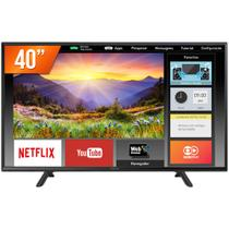 Smart TV LED 40 Full HD Panasonic TC-40FS600B 2 HDMI USB Wi-Fi Conversor Digital Integrado