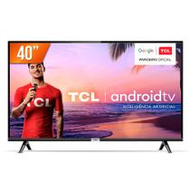 Smart TV LED 40'' Full HD TCL 40S6500S Android OS 2 HDMI 1 USB Wi-Fi -