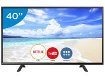"Smart TV LED 40"" Panasonic Full HD  - Conversor Digital Wi-Fi 2 HDMI 1 USB DLNA"
