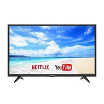 "Smart TV LED 40"" Panasonic TC-40FS500B Full HD com 2 USB, 2 HDMI, Mirroring, 60 Hz -"