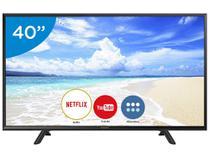 """Smart TV LED 40"""" Panasonic TC-40FS600B Full HD  - Wi-Fi Conversor Digital 2 HDMI 1 USB"""