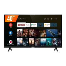Smart TV LED 40 Polegadas Full HD 40S6500S Android OS 2 HDMI 1 USB Wi-Fi TCL -