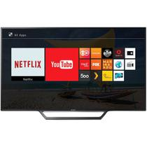 Smart TV LED 40 Sony KDL-40W655D Full HD com Conversor Digital 2 HDMI 2 USB Wi-Fi Foto Sharing Preta