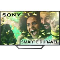 Smart TV LED 40 Sony KDL-40W655D Full HD com Conversor Digital 2 HDMI 2 USB Wi-Fi - Sony - linha marrom
