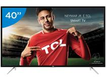 "Smart TV LED 40"" TCL Full HD L40S4900FS - Conversor Digital Wi-Fi 3 HDMI 2 USB DTVi"