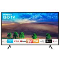 "Smart TV LED 40"" UHD 4K Samsung 40NU7100 com HDR Premium, Wi-Fi, Processador Quad-core, Espelhamento de Tela, Plataforma Smart Tizen, HDMI e USB -"
