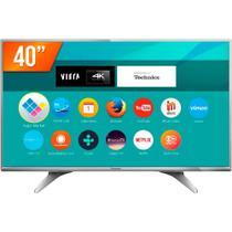 "Smart TV LED 40"" Ultra HD 4K Panasonic TC-40DX650B 3 HDMI 2 USB Wi-Fi -"
