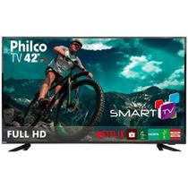 Smart TV LED 42 Philco PTV42E60DSWNC Full HD USB HDMI - Bivolt