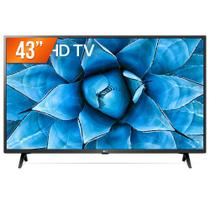 "Smart TV LED 43"" 4K UHD LG 43UN731C 3 HDMI 2 USB Wi-Fi Assitente Virtual Bluetooth -"