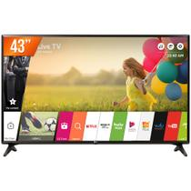 Smart TV LED 43 Full HD LG 43LK5750PSA 2 HDMI 1 USB Wi-Fi e Conversor Digital Integrados