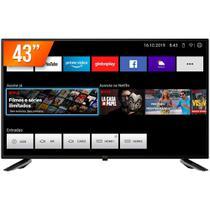 """Smart TV LED 43"""" Full HD Philco PTV43E10N5SF com Midiacast 2 HDMI 2 USB -"""