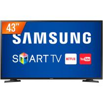 Smart TV LED 43 Full HD Samsung J5290 HDMI USB Wi-Fi Integrado Conversor Digital