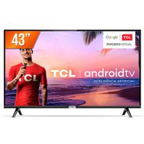 Smart TV LED 43'' Full HD TCL 43S6500S Android OS 2 HDMI 1 USB Wi-Fi -