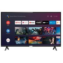 "Smart TV LED 43"" Full HD TCL Android, Controle Remoto com Comando de Voz, Bluetooth e HDMI -"