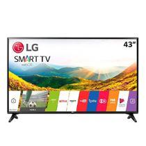 "Smart TV LED 43"" LG 43LJ551CBWZ, Full HD, USB, 2 HDMI, Modo Hotel, Wi-Fi -"