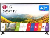 """Smart TV LED 43"""" LG 43LJ5550 Full HD Wi-Fi - Conversor Digital 2 HDMI 1 USB"""