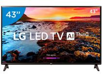 "Smart TV LED 43"" LG 43LK5750 Full HD Wi-Fi HDR  - Inteligência Artificial Conversor Digital 2 HDMI"