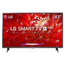 Smart TV LED 43 LG 43LM6300PSB Full HD Wi-Fi HDMI Conversor