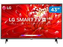 "Smart TV LED 43"" LG 43LM6300PSB Full HD Wi-Fi - Inteligência Artificial 3 HDMI 2 USB"