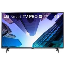 """Smart TV LED 43"""" LG 43LM631C0SB Full Hd com Wi-Fi, 2 USB, 3 HDMI, Painel IPS, Bluetooth, Thinq AI, Comando de Voz e 60hz -"""