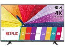 "Smart TV LED 43"" LG 4k/Ultra HD 43UF6800 WebOs - Conversor Digital Wi-Fi 2 HDMI 1 USB"