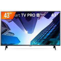 Smart TV LED 43''' LG, FULL HD, HDMI, USB, WIFI, Conversor Digital, Bilvolt - Preta -