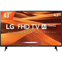 "Smart TV LED 43"" LG THINQ Al 43LM631C0SB - Casa & Video"