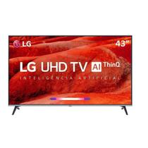 Smart Tv Led 43 Lg Um7510 Ultra Hd 4k Hdr Ativo Dts Virtual X Inteligência Artificial Thinq Ai Webos 4.5 -