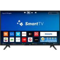 "Smart tv led 43"" philips 43pfg5813/78 full hd com conversor digital wifi hdmi -"