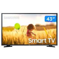 Smart Tv Led 43'' Samsung 43T5300 Full HD + WIFI, HDR para Brilho e Contraste, Plataforma Tizen, 2 HDMI, 1 USB - Preta -