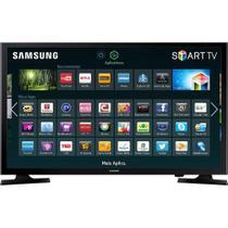 Smart TV LED 48 Polegadas Samsung Full HD com Conversor Digital HDMI USB UN48J5200 - Preto - Samsung Audio E Video
