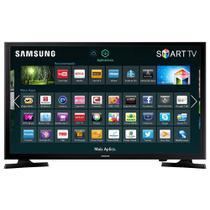 Smart TV LED 48 Polegadas Samsung Full HD com Conversor Digital HDMI USB UN48J5200 - Samsung Audio E Video