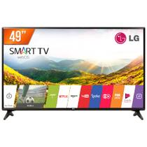 Smart TV LED 49 Full HD LG 49LJ5500 2 HDMI USB Wi-Fi Integrado Conversor Digital