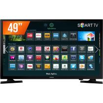 Smart TV LED 49 Full HD Samsung UN49J5200AGXZD 2 HDMI 1 USB Wi-Fi Integrado Conversor Digital