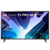 """Smart TV LED 49"""" LG 43LM631C0SB 4K com Wi-Fi, 2 USB, 3 HDMI, Painel IPS,Bluetooth,Thinq AI, Comando de Voz e 60hz -"""