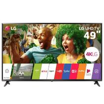 "Smart TV LED 49"" LG 49UJ6300, Ultra HD 4K, Wi-Fi, Painel IPS, HDR, HDMI, USB -"