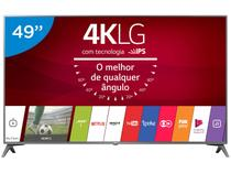"Smart TV LED 49"" LG 4K/Ultra HD 49UJ6565 WebOS - Conversor Digital Wi-Fi 4 HDMI 2 USB"