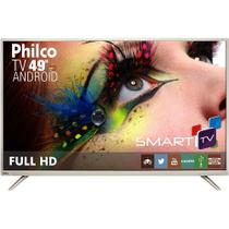 Smart TV LED 49 Philco Full HD Conversor Digital 2 HDMI 2 USB Wi-Fi Android PH49F30DSGWA