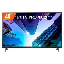 Smart TV Led 49 Pol, Ultra HD, 4K LG, 3 HDMI, 2 USB, Wi-Fi - 49UM731C0SA.BWZ - Lg eletronics