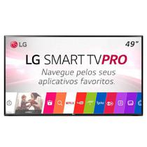 Smart TV LED 49 Polegadas LG 49LJ551C FULL HD 2 HDMI WIFI USB Sem Base