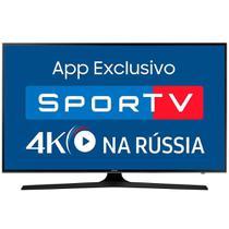 "Smart TV LED 49"" Samsung UN49MU6100 4K Ultra HD, Wi-Fi, 120Hz, 2 USB e 3 HDMI -"