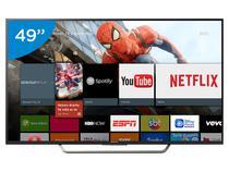 """Smart TV LED 49"""" Sony 4K Ultra HD KD-49X7005D - Conversor Digital Wi-Fi 4 HDMI 3 USB DLNA"""