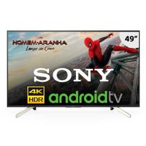 "Smart TV LED 49"" Sony KD-49X755F 4K Ultra HD HDR com Android, Wi-Fi, Sleep Timer, 4 HDMI e 3 USB -"
