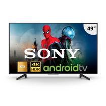 "Smart TV LED 49"" Sony XBR-49X805G UHD 4K, 4K X-Reality Pro, 3 USB, 4 HDMI, Android TV -"